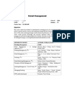 Retail Management SLMM609