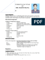 MASUD RANA  2 PAGE CV
