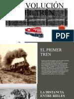 La evolución del tren