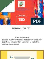 Cliche Ted Talks Preparing the Delivery