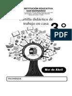 CARTILLA 1 - GRADO TERCERO - ADAPTACION CURRICULAR - FISICA
