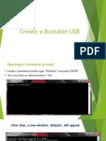 5.1 Create a Bootable USB