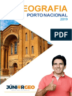 Geografia Porto Nacional 2019