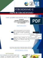 HIPOTIROIDISMO E hIPERTIROIDISMO.pptx