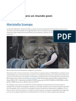Reflexiones para un mundo post-coronavirus
