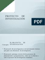 Proyecto de investigacion- planteamiento del problema-MODELO PROYECTO POWERPOINT
