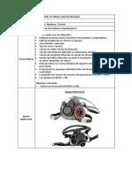 Especificaciones tecnicas. Respirador de media cara reutilizable