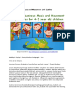 music and movement unit outline weebly