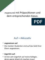 BA2 Adjektive mit Präpositionen Theorie