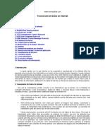 TRANSMISION DE DATOS INTERNET