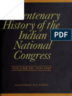 A Centenary History of the Indian National Congress 03 - 1935-47 - B.N. Pande