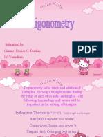 Trigonometry! ;)