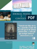 LECCIÓN 7-IDIOMAS, TEXTO Y CONTEXTO-
