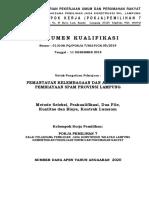 5. Dokumen Kualifikasi Pemantauan Kelembagaan Spam