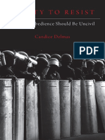 Candice Delmas - A Duty to Resist_ When Disobedience Should Be Uncivil-Oxford University Press, USA (2018)