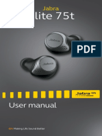 Jabra Elite 75t Manual