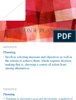 Lesson 4 Planning 1