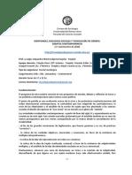 IDENTIDADES, DISCURSOS SOCIALES Y TECNOLOGÍAS DE GÉNERO. DEBATES CONTEMPORÁNEOS