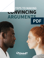 Five Steps to Making Convincing Arguments Summit Ministries
