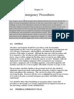 Ch 14-Emergency procedures