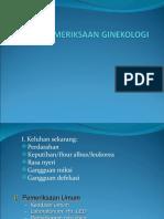 PEMERIKSAAN GINEKOLOGI II