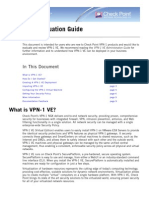 Checkpoint VPN-1 Va Eval Guide