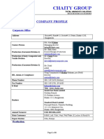 Company Profile 26 09 2010
