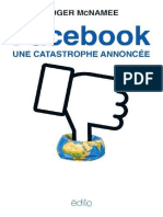 Roger McNamee – Facebook, la catastrophe annoncée (2019)