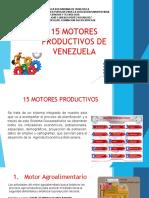 15 motores productivos de venezuela -  jasmin hernandez