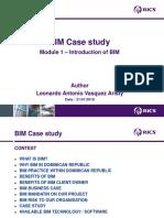 BIM Business Case Module 1- Leonardo