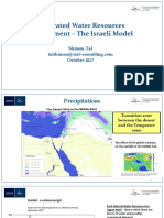 Integrated Water Resources Management - the Israeli Model