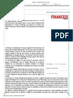 Maghress _ Système financier marocain