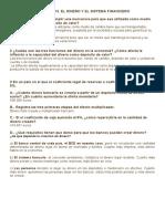 TEMA 12 Y 13. EL DINERO Y EL SISTEMA FINANCIERO EJERCICIOS RESUELTOS