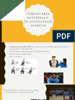 Comunicarea nonverbală