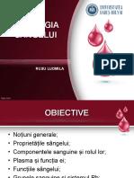 fiziologia sangelui