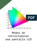 Modos de retroiluminar una pantalla LCD.docx