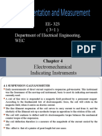 Lecture 3 I&M Electromechanical Indicating Instrument 1