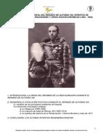 13 Panorama general del reinado de Alfonso XIII. Intentos de modernización el Regeneracionismo y crisis socio-económicas
