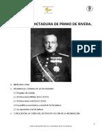 14 La dictadura de Primo de Rivera