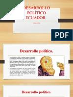 Desarrollo Politico en Ecuador[10596]