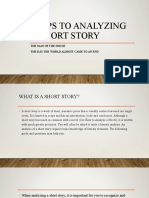 Steps to Analyzing a Short Story