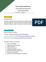 Tercera practica virtual Lengua Española