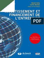 investissement et financement des entreprises
