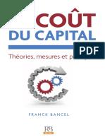 LE COÛT du capital théorique mesure et pratique
