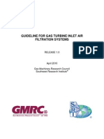 Guideline for Gas Turbine in Let Air Filtration Systems