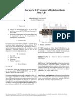 Cronometro Digital con PsoC