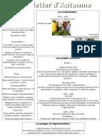 newsletter automne