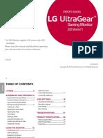 LG Gaming Monitor 27GL63T_ENG_US