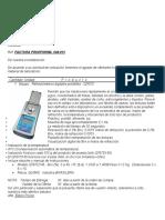 IMEG-Refractometro