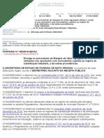PORTARIA 195.2019 - MVA ICMS ST - SEFAZ MATO GROSSO